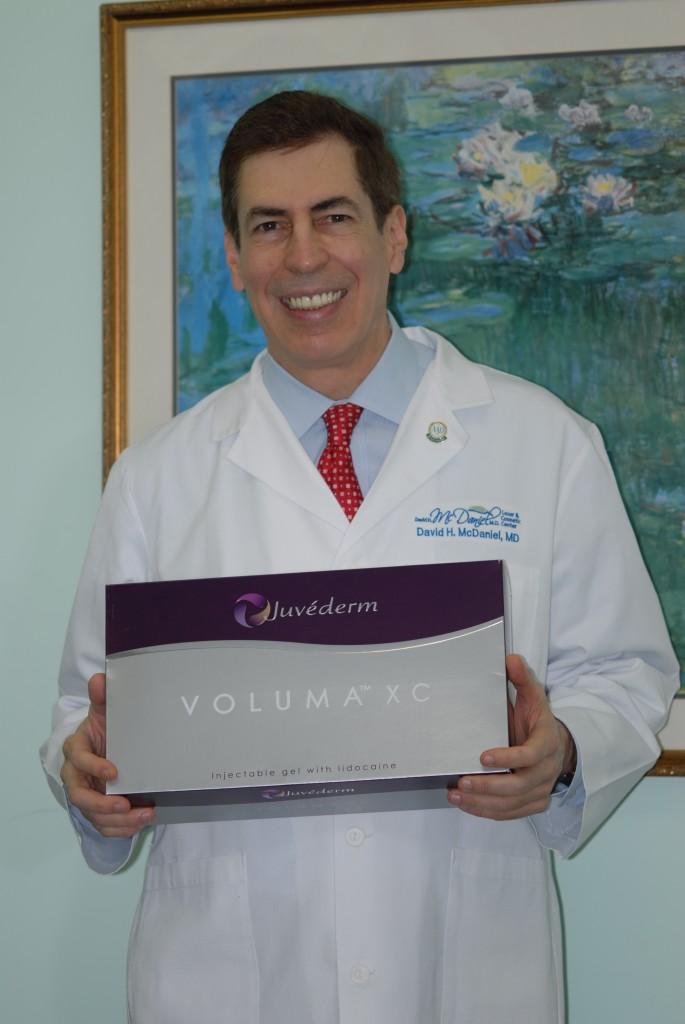 Dr. McDaniel has Juvederm Voluma XC